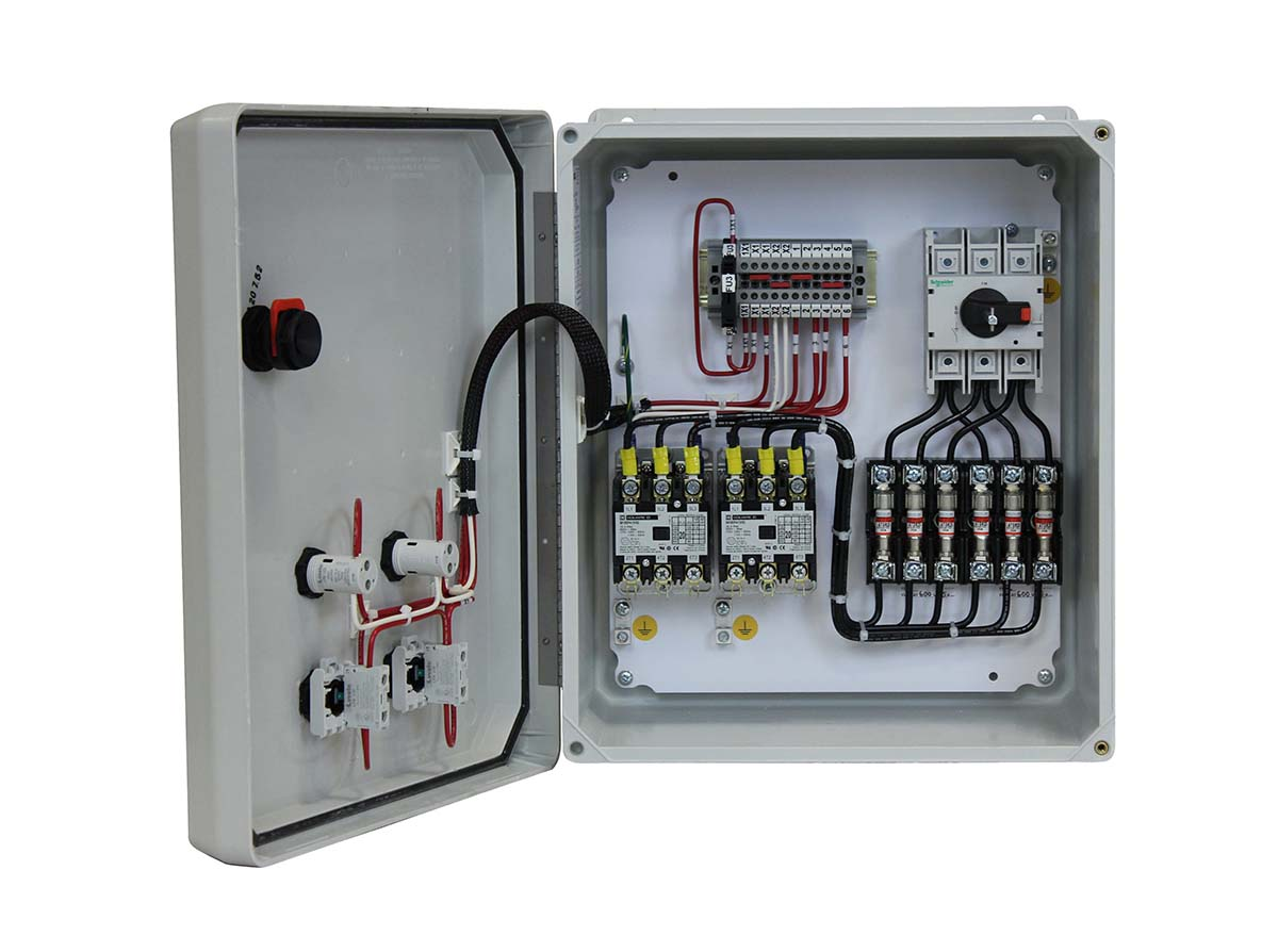 Contactor/Fused Disconnect - w/cover control (BHCDX)