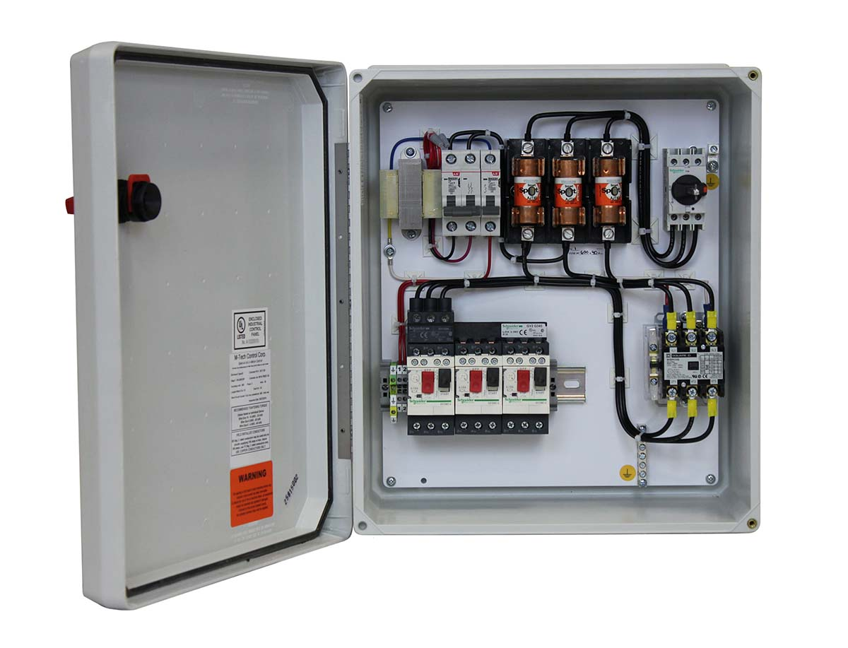 Manual Motor Starter/Fused Disconnect /Automatic Contactor Control (MMSFA)